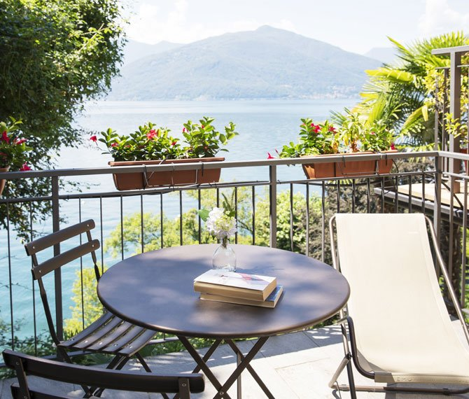 Depandance, one room holiday flat on Lake Maggiore