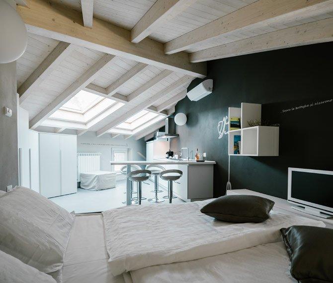 Chiara romantic apartament in Luino center